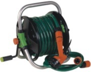 20m Garden Hose Reel Set with 7 Function Sprinkler