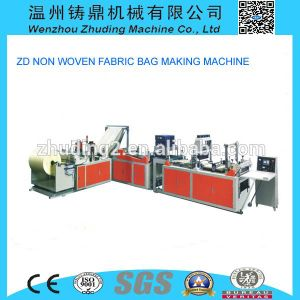 High Quality Non Woven Flat Bag Making Machinery pictures & photos