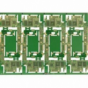 10-Layer HDI PCB with 1.0mm Thick, Used for Telecom