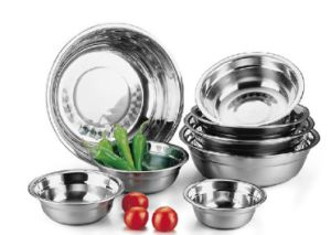 14 28cm Stainless Steel Kitchenwares Deep Basin