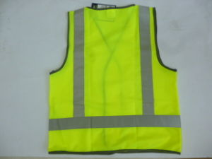 H Back High Visibility Reflective Vest pictures & photos
