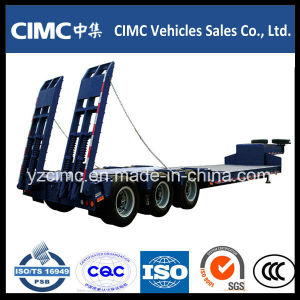 Cimc High Quality 50 Ton Low Bed Trailer pictures & photos