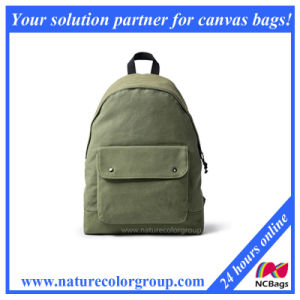 Canvas School Backpack for Study pictures & photos