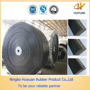 Nylon Conveyor Rubber Belt for Conveying Wood Bark (NN150) pictures & photos