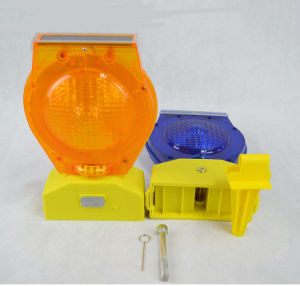 Customized Mould LED Yellow Flashing Traffic Barricades Light pictures & photos
