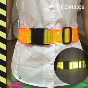 CE En13356 Reflective Waistband, Refelctive Belts pictures & photos