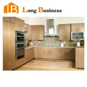 Wood Grain Melamine Finish MDF Kitchen Cabinet Design (LB-JX1119)  sc 1 st  Zhejiang Anji Longbang Furniture Co. Ltd. & China Wood Grain Melamine Finish MDF Kitchen Cabinet Design (LB ...
