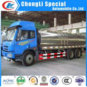 Stainless Steel Milk Tank Transport Trucks 5tons for Sale pictures & photos