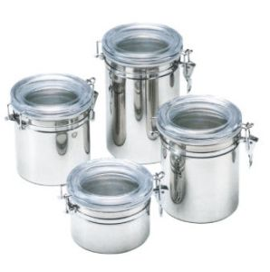 China Stainless Steel Kitchen Food Storage Canister with ...