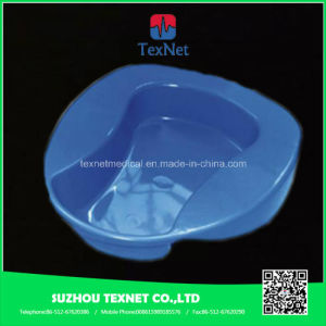 Platistic Portable Bedpan with Lid pictures & photos