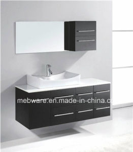 New Design Wall Hanging Modern Bathroom Vanities PVC/MDF Cabinet