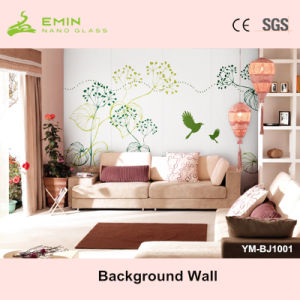 Emin Nano Glass Stone / Crystallized Glass Stone Wall Tile Background Wall Ym-Bj1001 pictures & photos