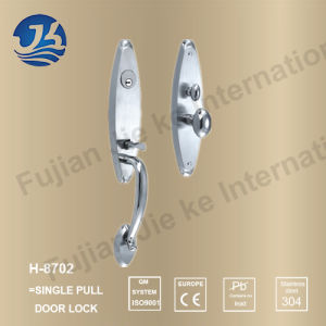 High Quality 304 Stainless Steel Door Lock (H-8702)