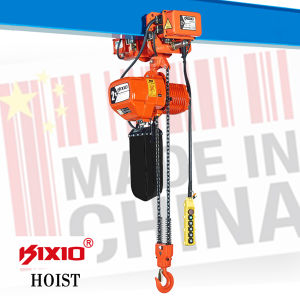 ISO Certification Red 2t Construction Mini Electric Chain Hoist pictures & photos