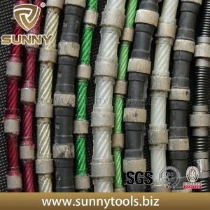 Sunny Concrete Quarrying Sintered Diamond Wire Saw pictures & photos