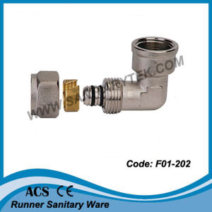 Brass Equal Tee / Brass Compression Fitting for Pex-Al-Pex Pipe (F01-303) pictures & photos