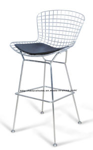 Modern Dining Restaurant Knock Down Wire Bar Chairs pictures & photos