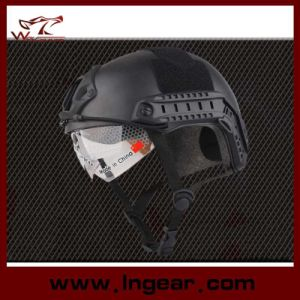 Airsoft Paintball Helmet Military Helmet Mh Style with Visor pictures & photos