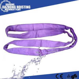 CE Approved 100% Polyester Webbing Sling Belt