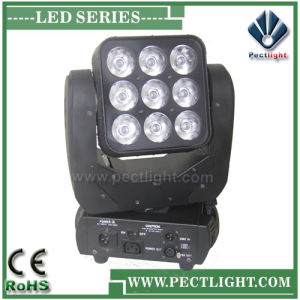 Club 9*10W LED Moving Head Light DJ Equipment pictures & photos