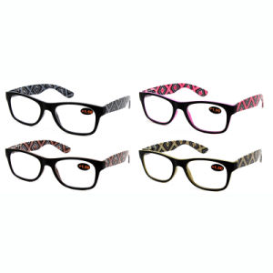 New Fashion Design Injection Reading Glasses with Many Colors pictures & photos