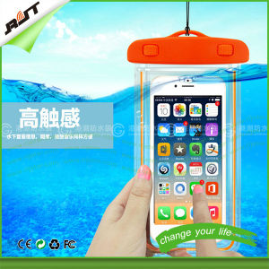 Universal Waterproof Cell Phone Cover Case with Luminous Frame (RJT-0222)