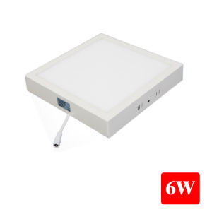 6W Surface Mounted Ceiling LED Panel Light