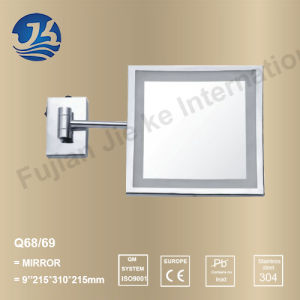 Extendable LED Light Stainless Steel Bathroom Mirror (Q68/Q69)