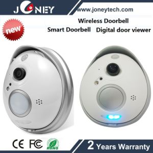 1 Megapixel Remote Video Camera Wireless WiFi CCTV Doorbell Camera pictures & photos