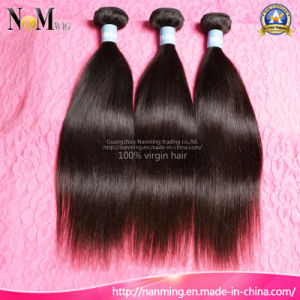 Strong Double Weft Human Hair Virgin India Human Hair pictures & photos