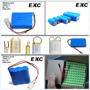 102555 Cheap Lipo Batteries 3.7V 1400mAh pictures & photos