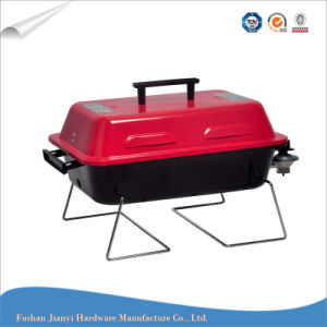 China Red Mini Portable Indoor Barbecue Outdoor Bbq Gas Grill