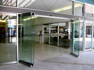 China Main Entrance 10mm/12mm Single Glass Frameless Folding Door ...