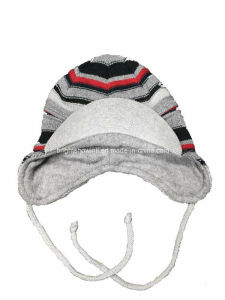 Children′s Jacquard Knitted Hat pictures & photos
