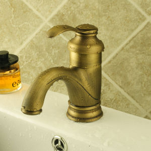 Antiqua Bathroom Wash Basin Wash Faucet (6636) pictures & photos