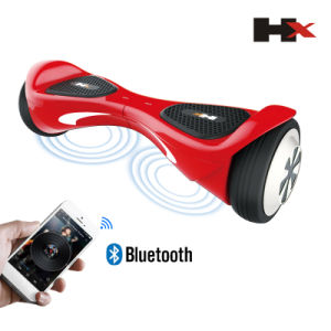 2015 Newest Patented UL60950-1 6.5inch Bluetooth Speaker Electric Scooter Self Balancing Scooter