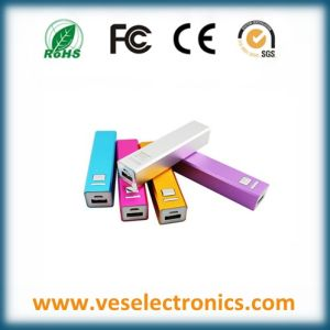 Promotional Portable Power Bank 2600mAh Full Capacity pictures & photos