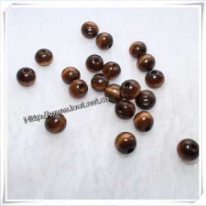 Square, Oval, Round and Painted Wood Beads, Rosary Beads (IO-wa025) pictures & photos
