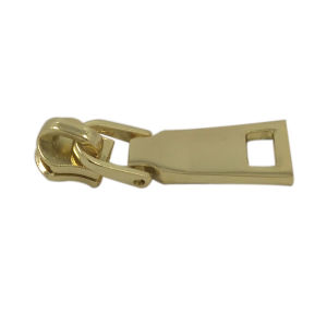 Cheap Customized Jacket Blank Gold Metal Zipper Puller pictures & photos