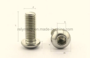 Stainless Steel Hex Socket Pan Head Machine Screw M3-M10 pictures & photos