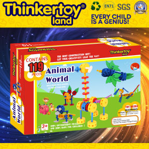 Wholesale Education Plastic DIY Animal Toy for Children pictures & photos