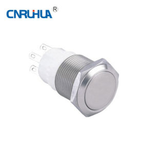Factory Metal Non Illuminated Waterproof Pushbutton pictures & photos