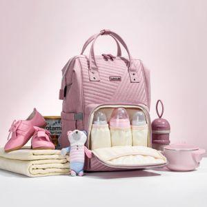 Multi-function Baby Diaper Bag Felt Nappy Storage Basket Maternity Handbag