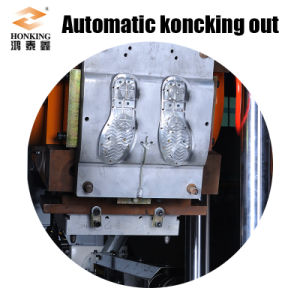 Static Injection Moulding Machine for Shoe Sole Making pictures & photos