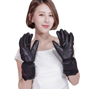 5 Fingers and Back Side heated glove for Outdoor pictures & photos