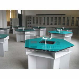Students Lab Furniture Epoxy Resin Working Table pictures & photos