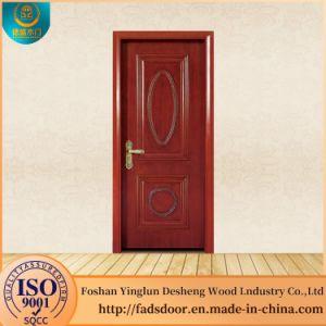 China Desheng Wood Entry Doors Polish Price China Wooden Door Mdf