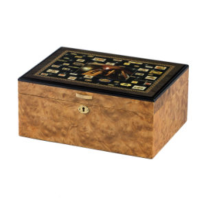 Luxury Wooden Humidor Gift Packaging Cigar Box