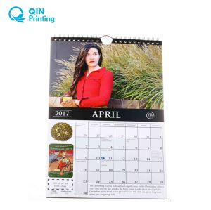 China Top Ten Full Color 2018 Calendar Printing Manufacturer