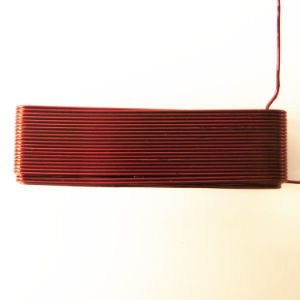 Coupled Air Common Mode Coil Choke/RF Inductor Transformer with Low Loss  Ferrite Core Material Coil